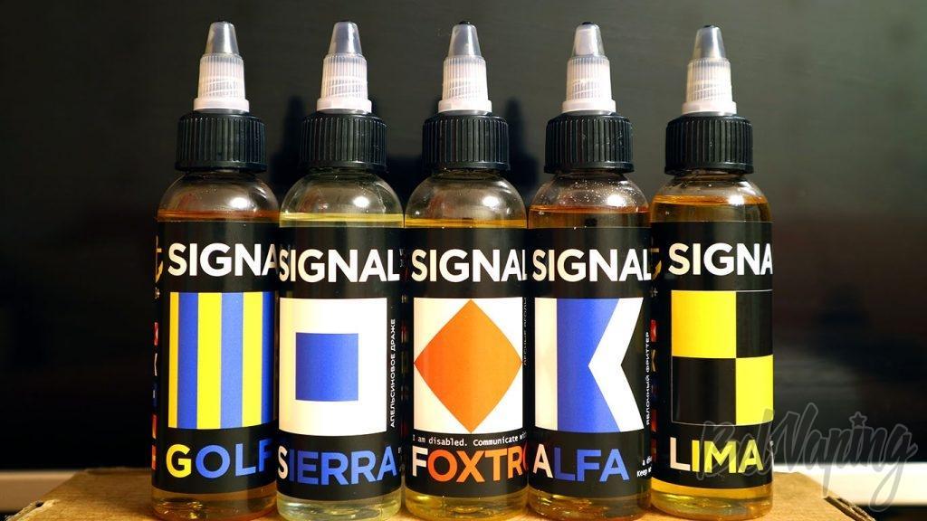 Обзор жидкостей SIGNAL - линейка вкусов