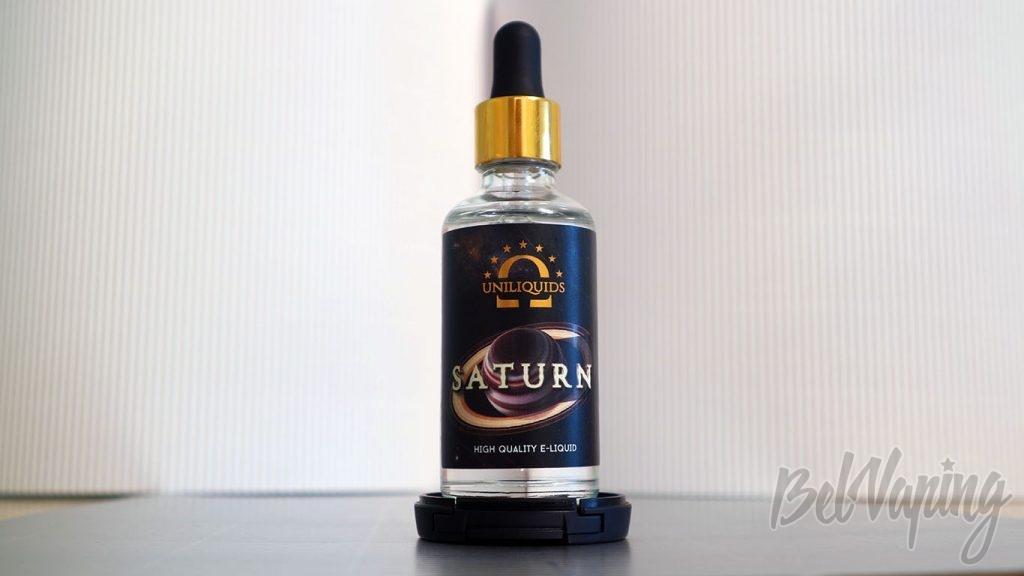 Обзор жидкости UNILIQUIDS - вкус SATURN