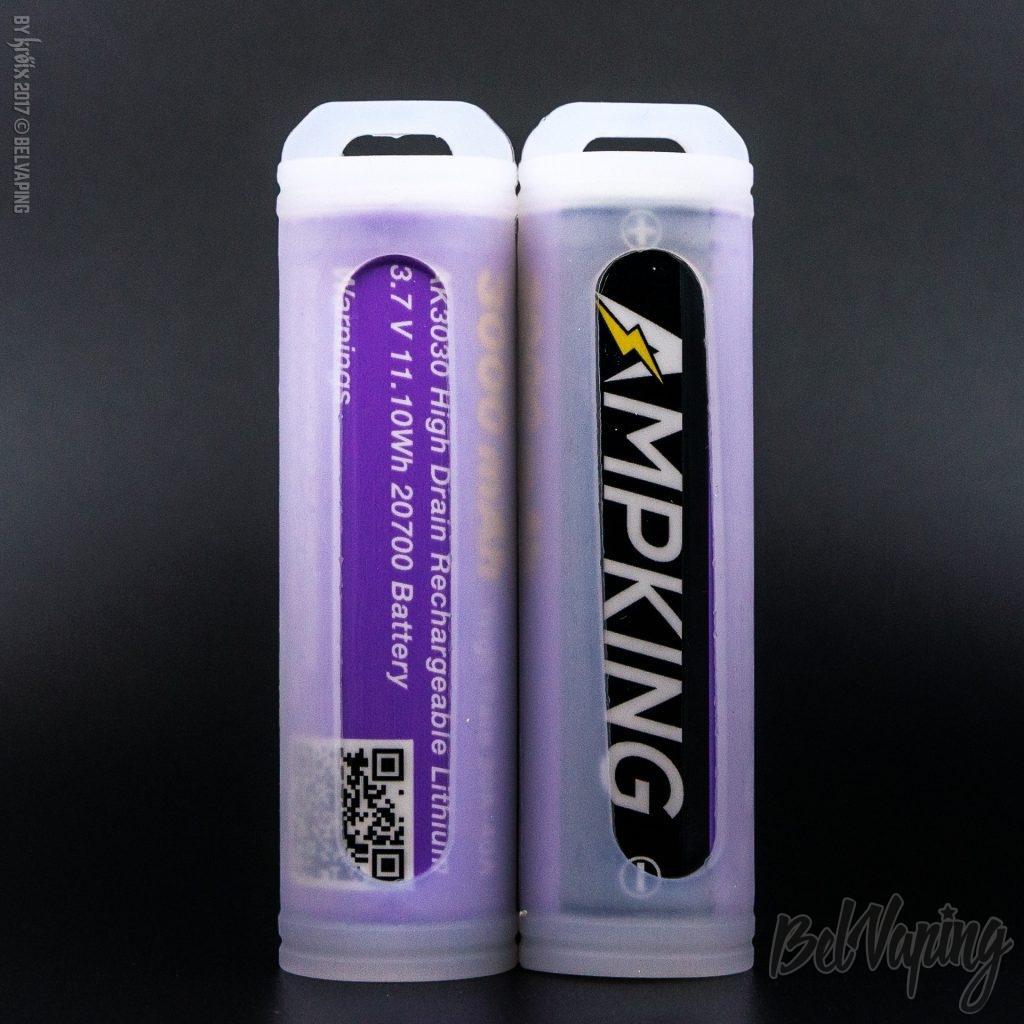 Аккумуляторы AmpKing AK3030-20700 3000mAh 30A-40A