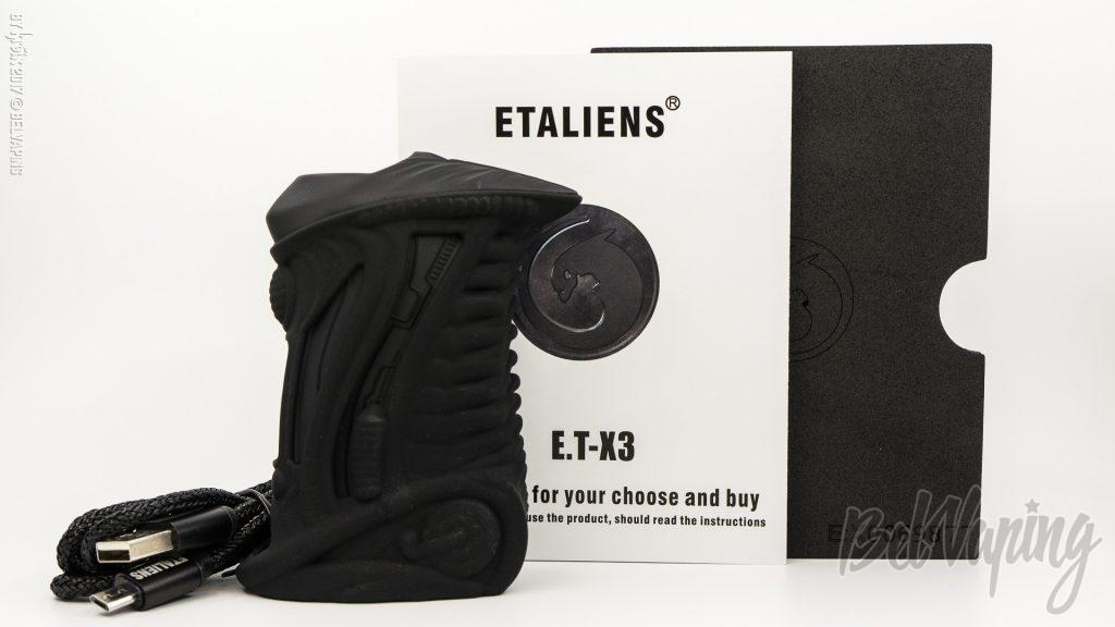 Комплектация ETALIENS E.T-X3