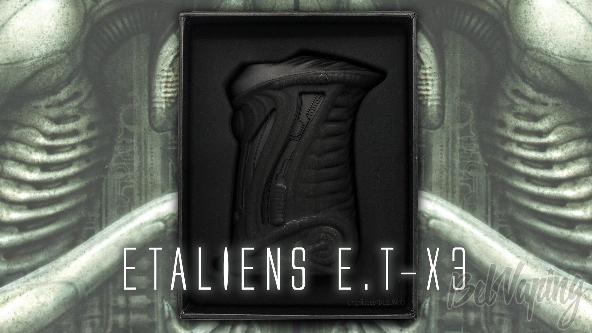 Боксмод ETALIENS E.T-X3 TC Box Mod