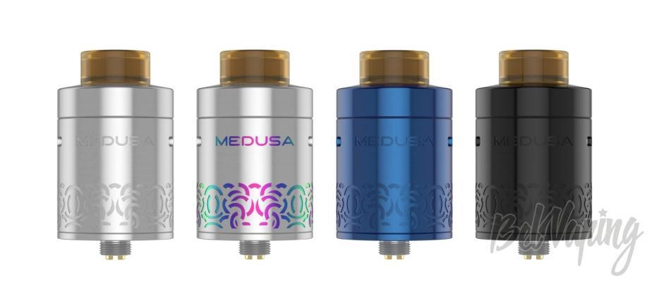 Возможные цвета GeekVape Medusa Reborn RDTA