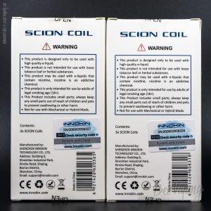 Упаковка испарителей для Scion Sub-Ohm Tank