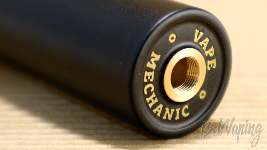 Обзор мехмода Spanner от Maskit Vape и Vape Mechanic - Коннектор