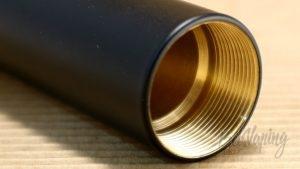 Обзор мехмода Spanner от Maskit Vape и Vape Mechanic - Резьба кнопки