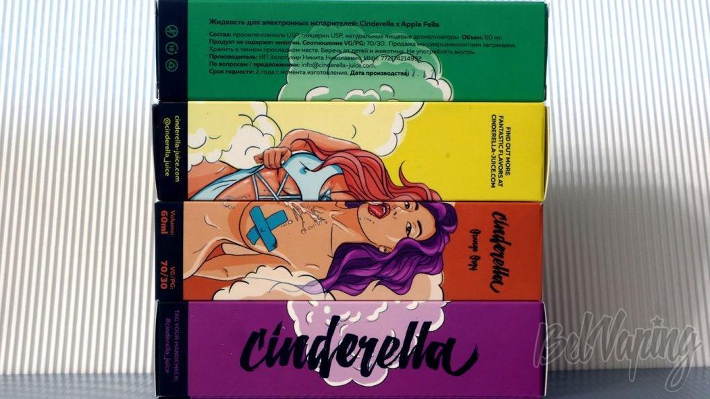 Обзор жидкости Cinderella - коробки