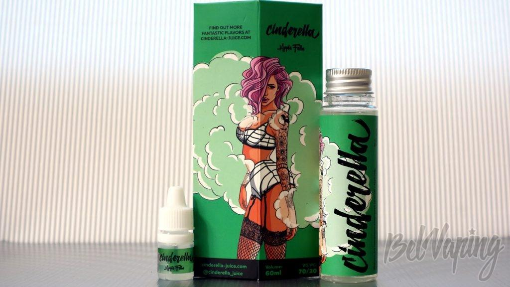 Обзор жидкости Cinderella -вкус Apple Fella