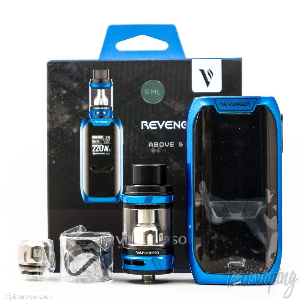 Комплектация Vaporesso Revenger Kit