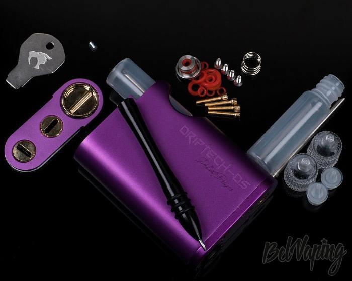 Комплектация 528 Custom Vapes Driptech-DS