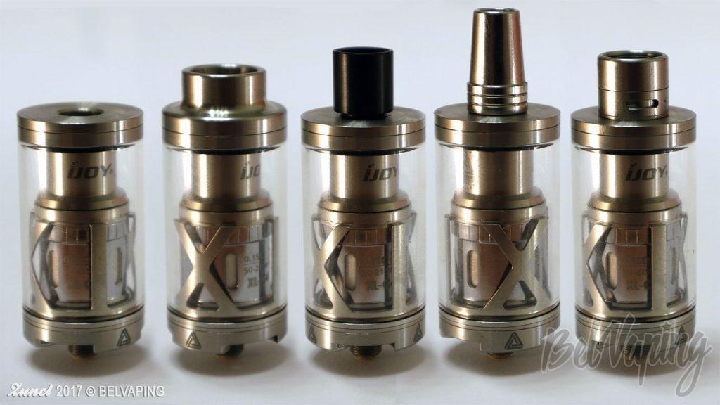 Limitless XL с разными 510 дриптипами