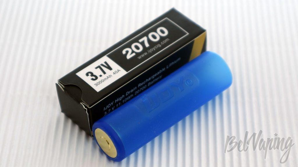 Обзор набора Wonder Vapeco 270 KIT - аккумулятор ijoy20700 и переходник