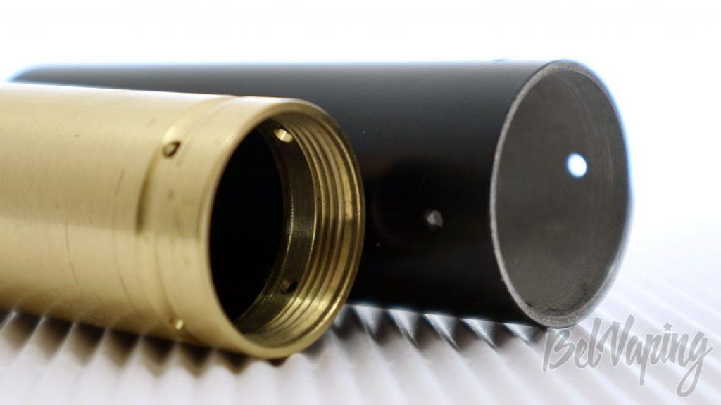 Обзор набора Wonder Vapeco 270 KIT - резьбы и отверстия сброса газов