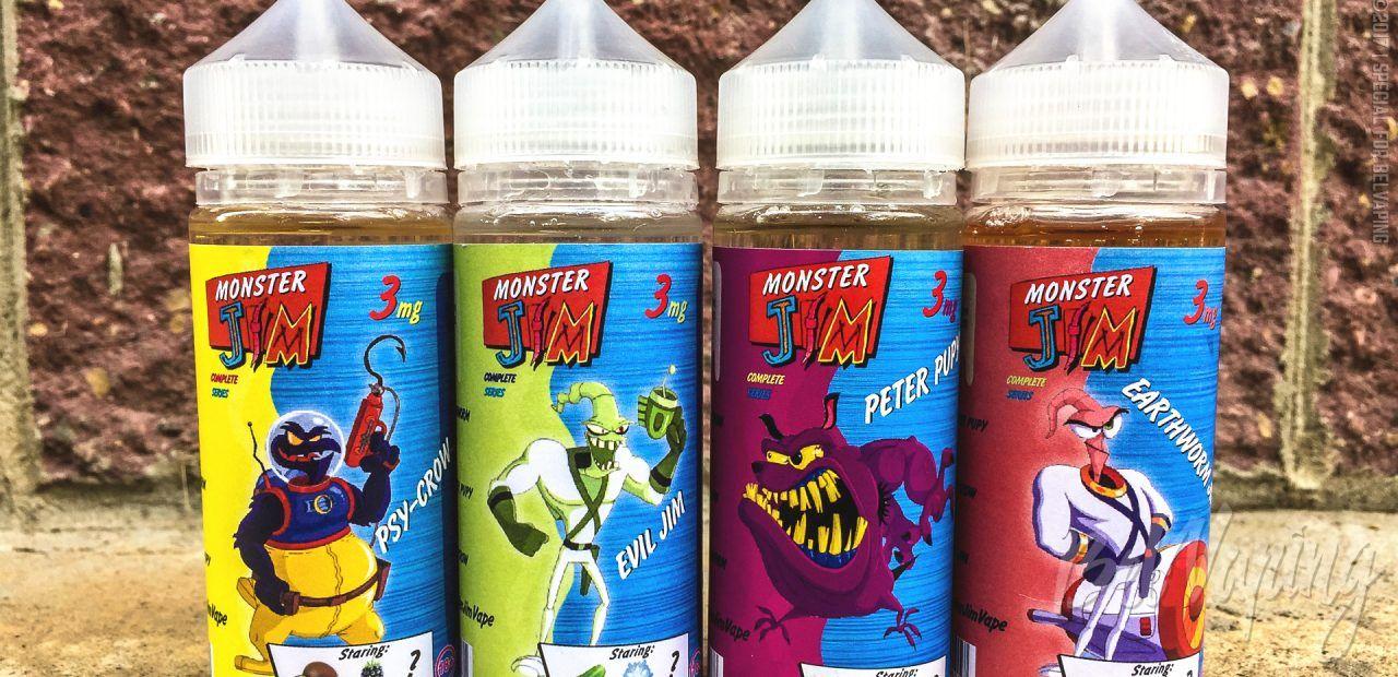 Обзор жидкости Monster Jim