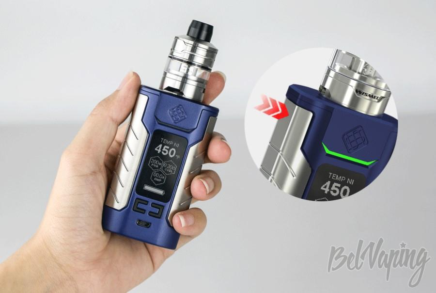 Кнопка Fire Wismec Sinuous FJ200