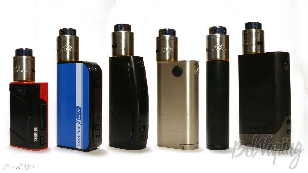 BLIZZ RDA вид на разных устройствах