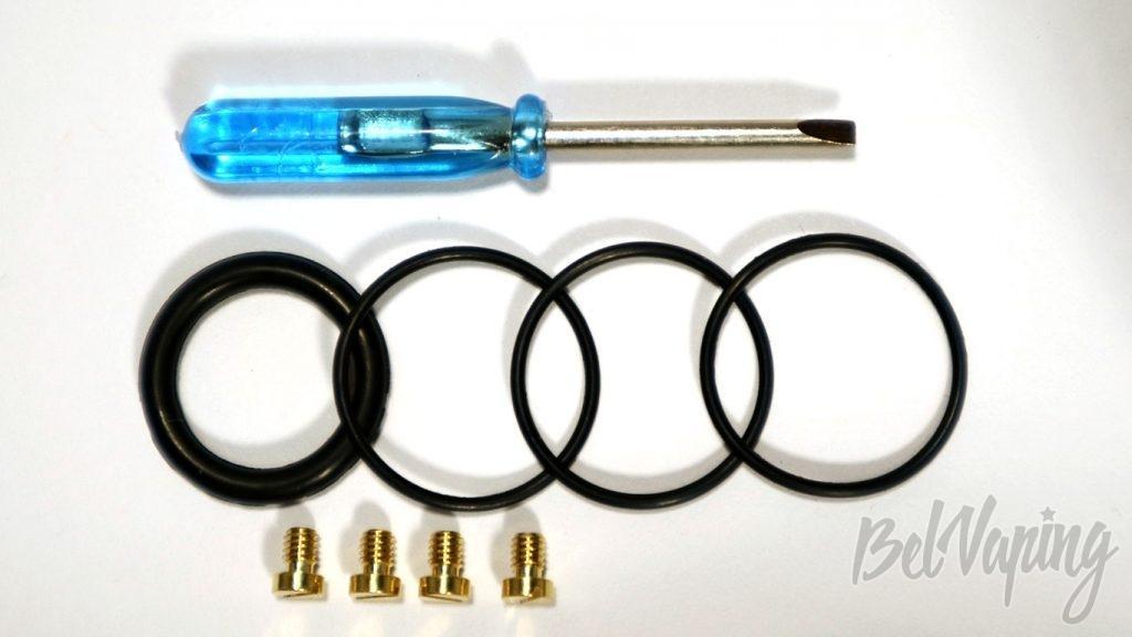 BLIZZ RDA - комплект расходных и запасных частей