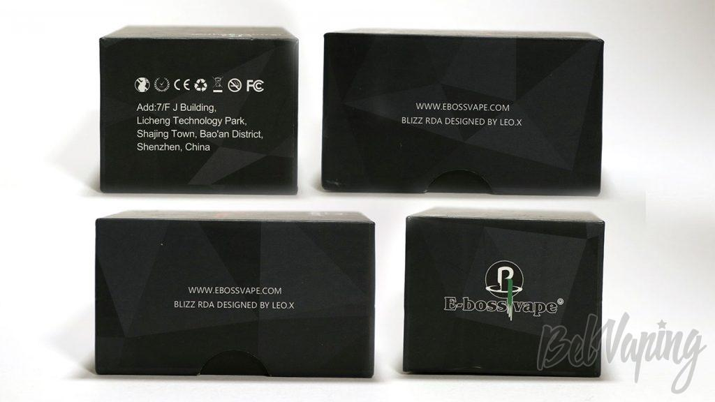 BLIZZ RDA - упаковка