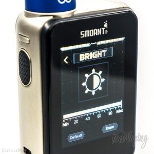 Максимальная яркость экрана Smoant Charon TS 218