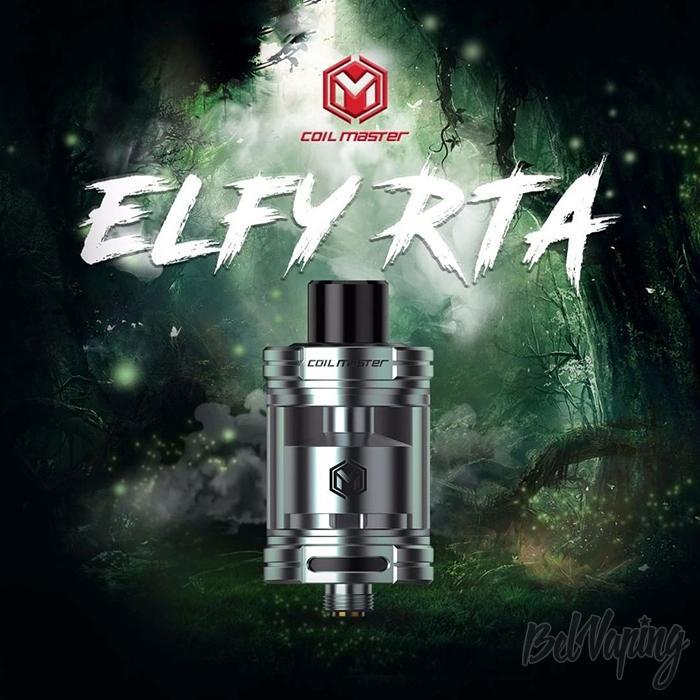 Внешний вид Coil Master ELFY RTA