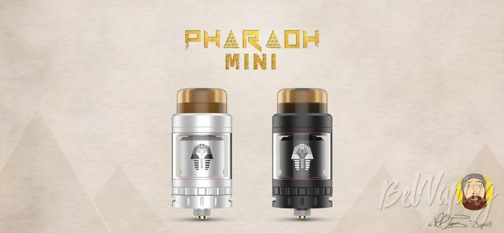 Внешний вид Digiflavor Pharaoh Mini RTA