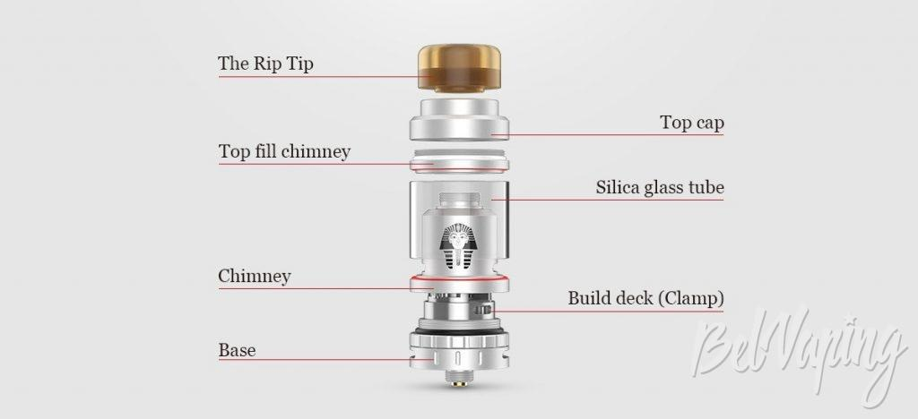 Конструктив Digiflavor Pharaoh Mini RTA