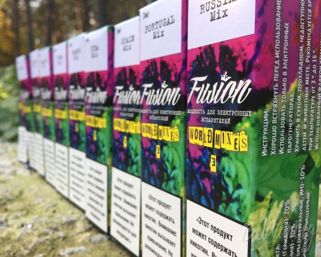 Обновленные жидкости Fusion