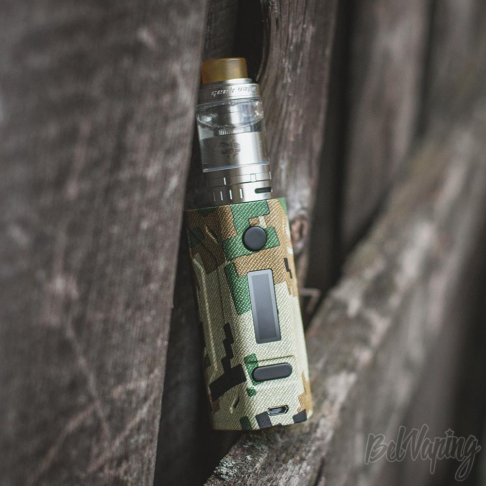 Geekvape Ammit 25 RTA с боксмодом Smoant Battlestar 200W