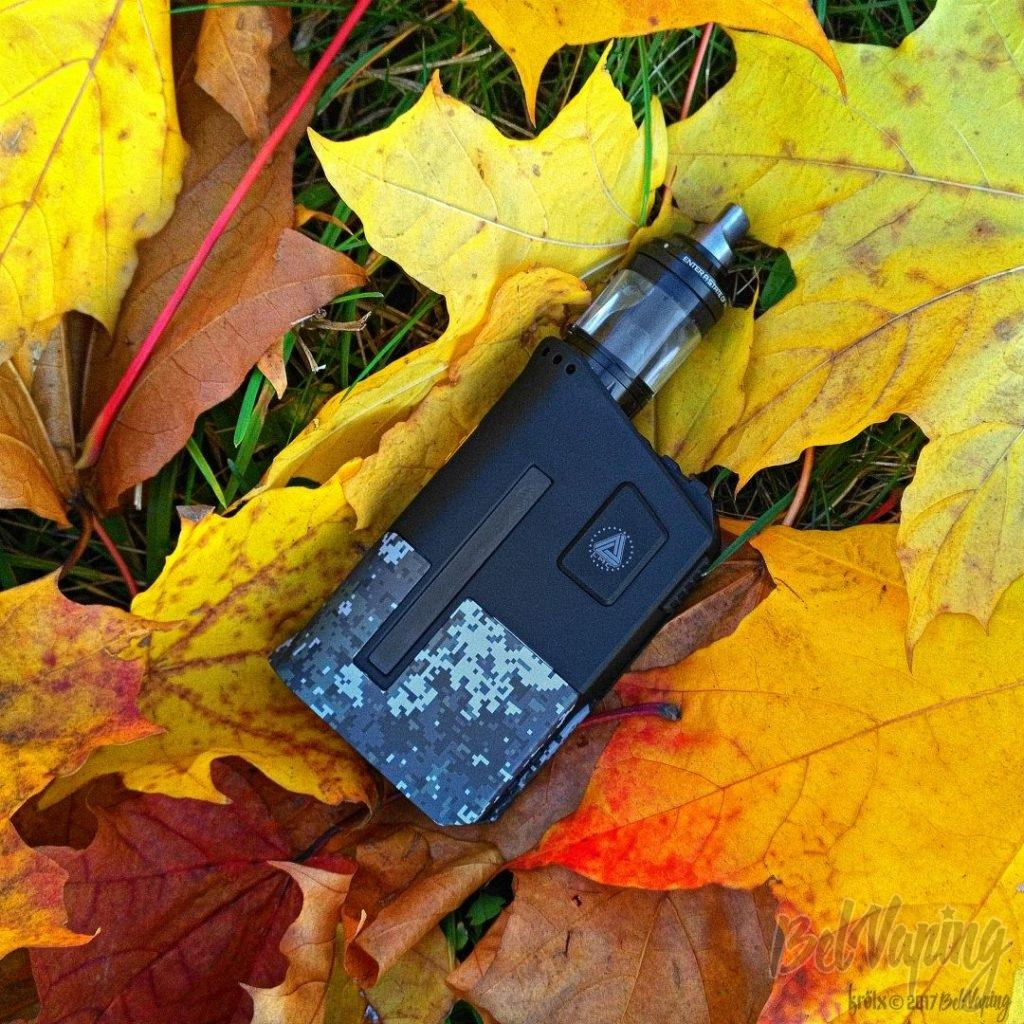 Боксмод Limitless Arms Race 200W с Bereserker MTL RTA