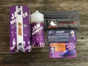 Содержимое коробки Jam Monster Grape