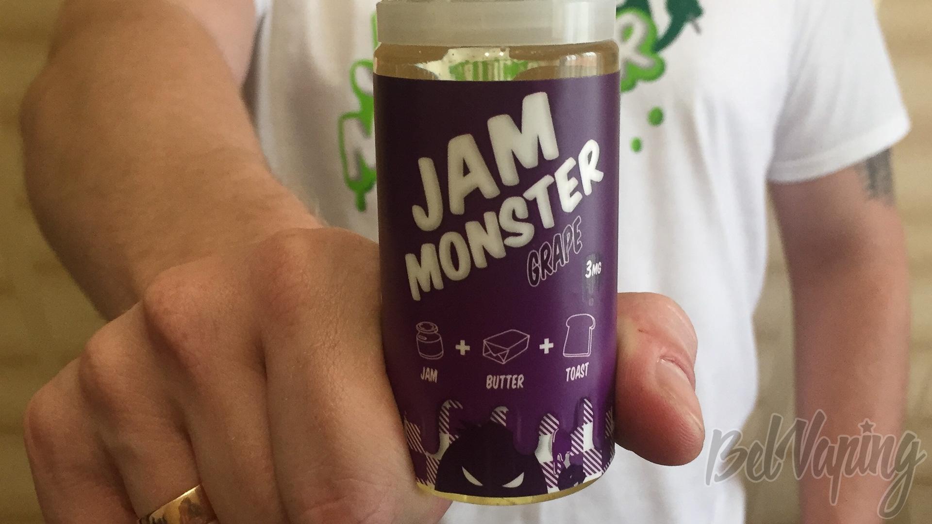 Обзор жидкости Jam Monster Grape