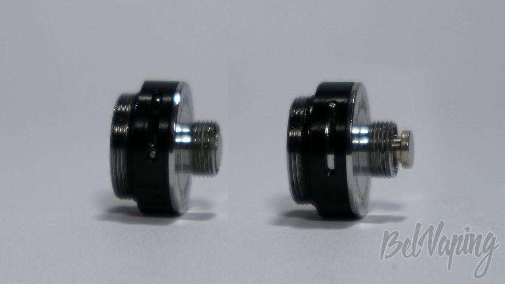 JustFog Q16 KIT - коннектор и регулировка обдува