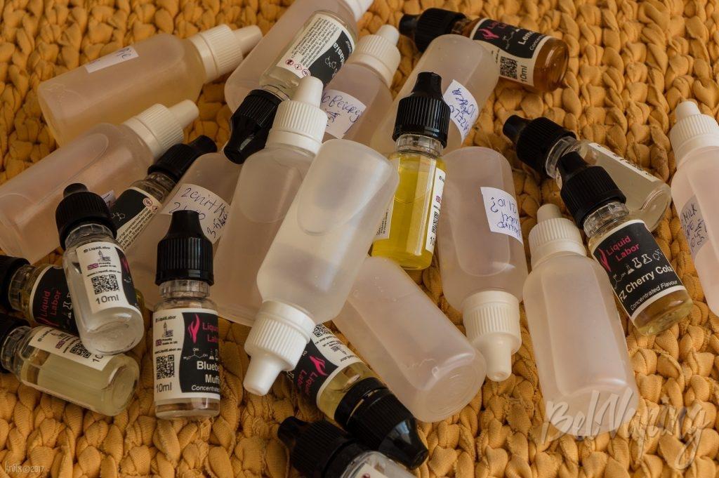 Готовые к тесту жидкости на ароматизаторах Liquid Labor