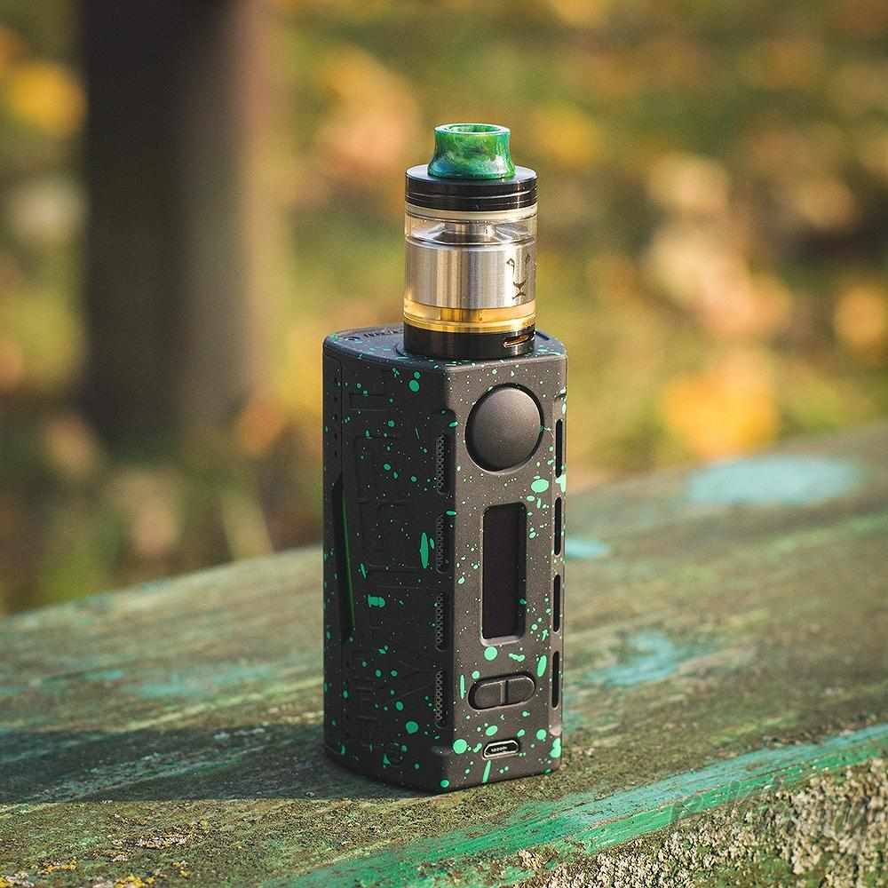 Боксмод Tesla WYE 200W с баком Kaees Solomon RTA