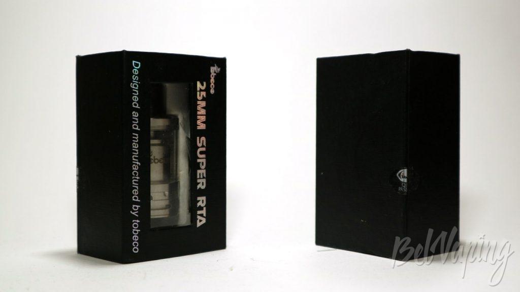 Tobeco Super RTA - упаковка