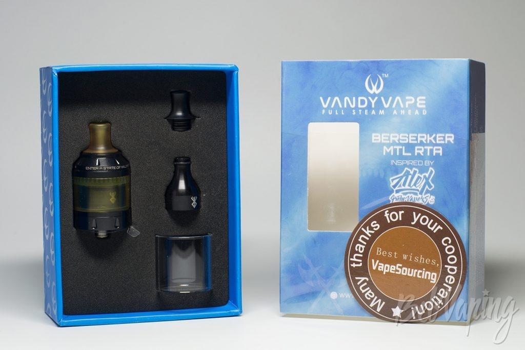 Упаковка Vandy Vape Berserker MTL RTA