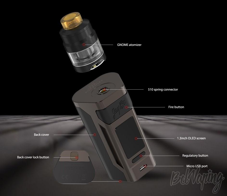 Конструктив Wismec Reuleaux RX2 20700