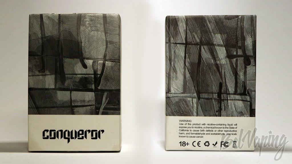 Wotofo Conqueror RTA - упаковка