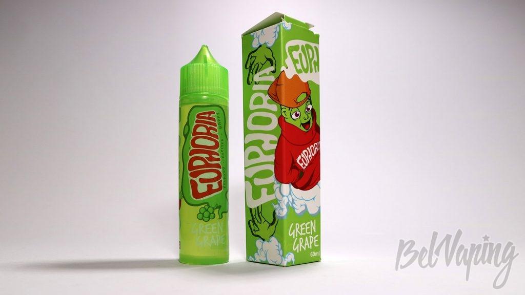 Жидкости EUPHORIA - вкус Green Grape