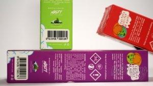 Жидкости EUPHORIA - надписи на упаковке