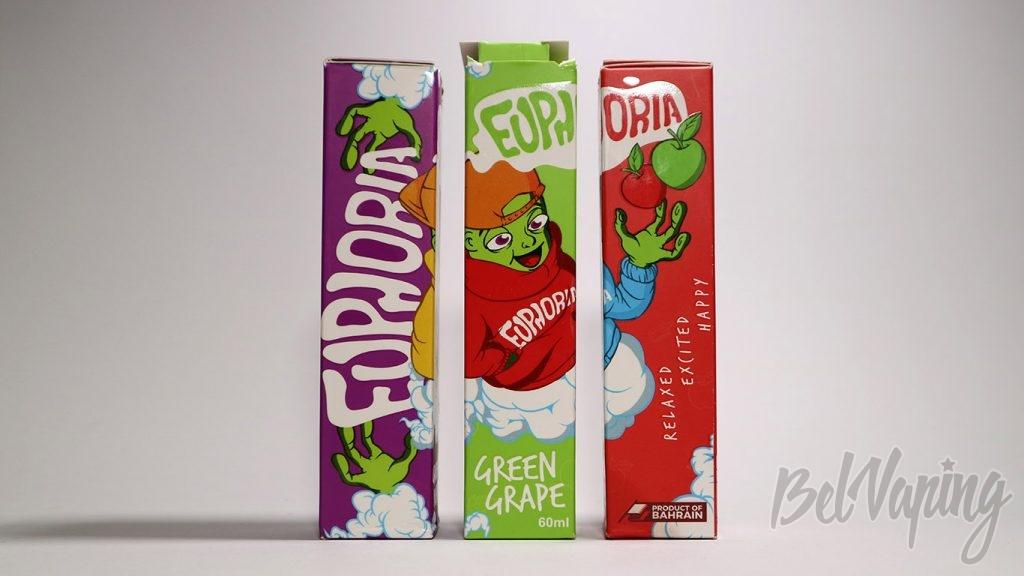 Жидкости EUPHORIA - упаковка