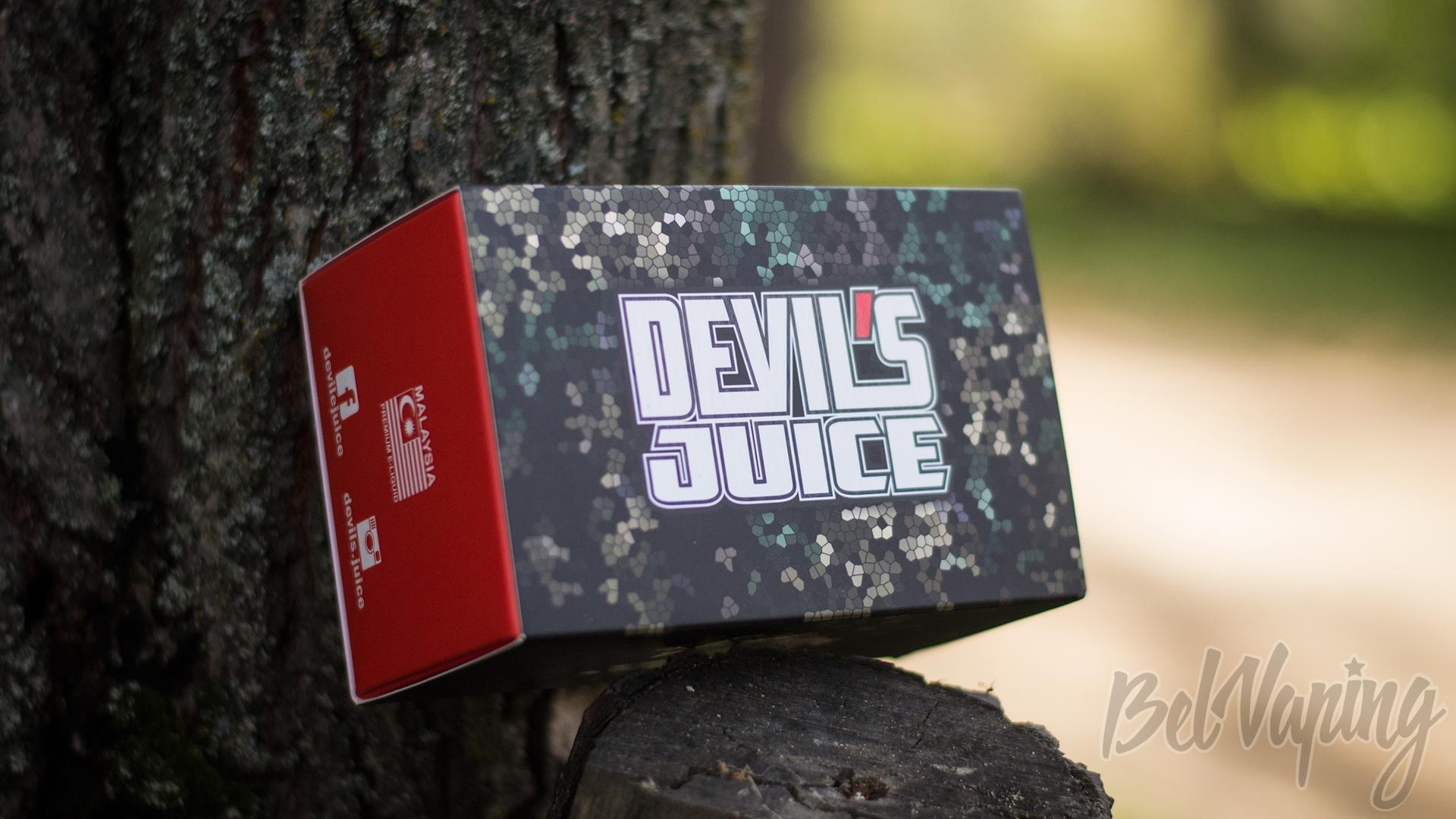 Обзор малайзийской жидкости Devil's Juice