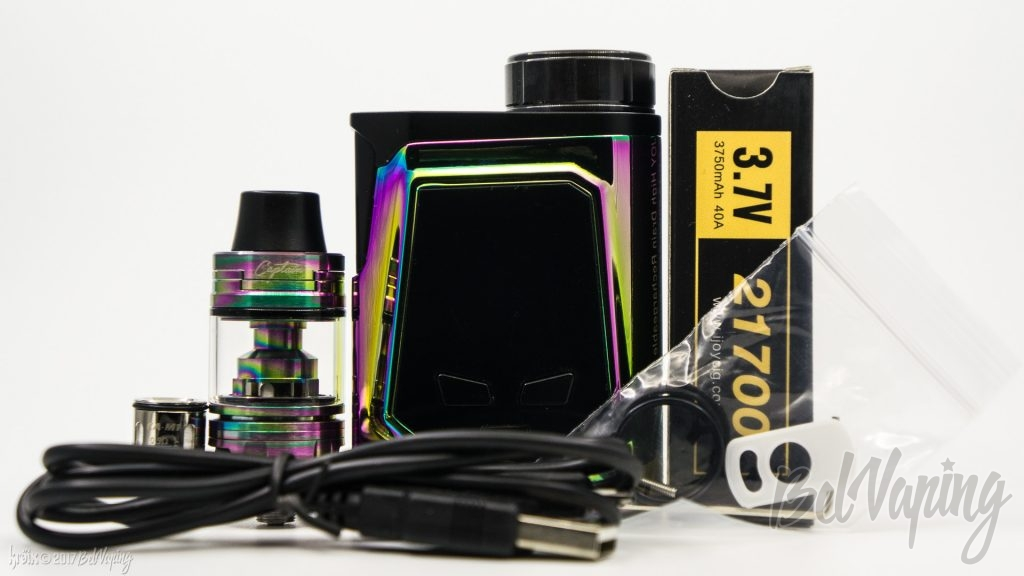 Комплект поставки iJoy CAPO 100 Kit