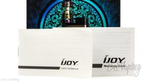 Гарантия и инструкция iJoy CAPO 100 Kit