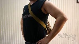 Сумка #vBag Капля - ношение за спиной