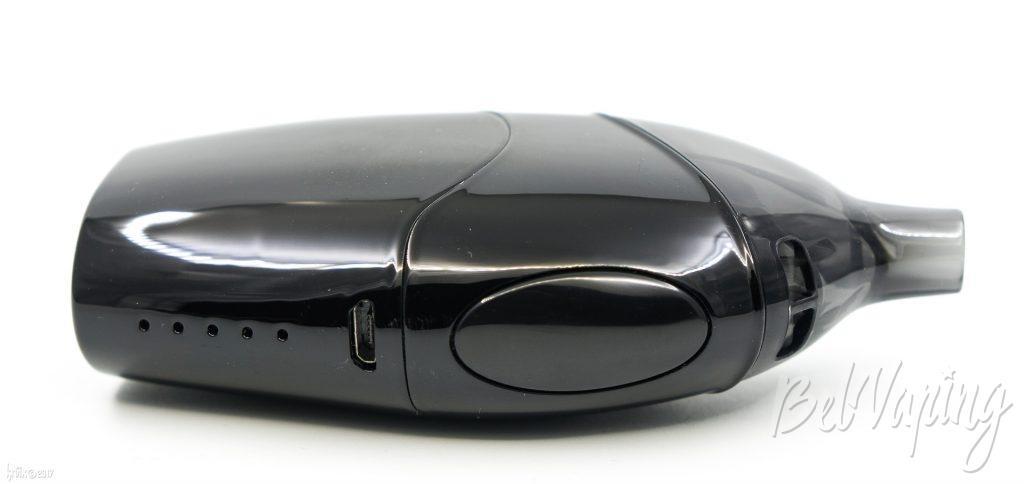 Кнопка, разъем USB и индикация заряда Atopack Dolphin by Joyetech