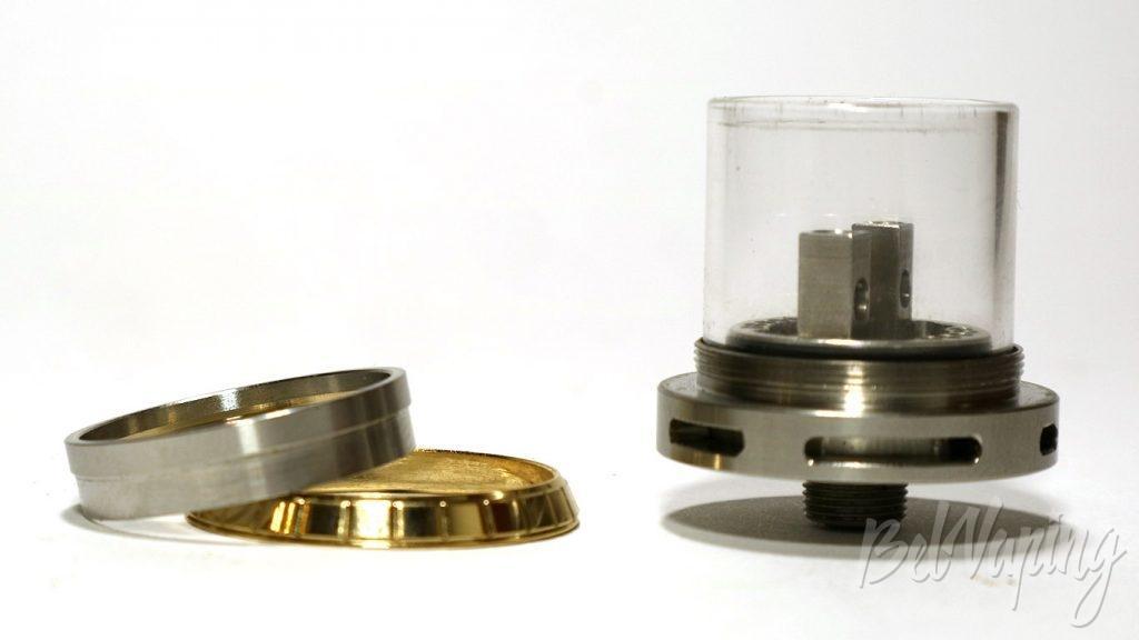 Coil Master Monstruito RDA - база и фиксирующее кольцо