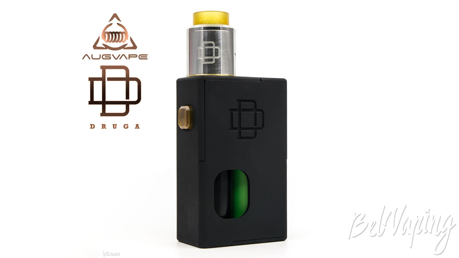 Обзор набора Druga Squonk Box Kit (Druga Squonker)