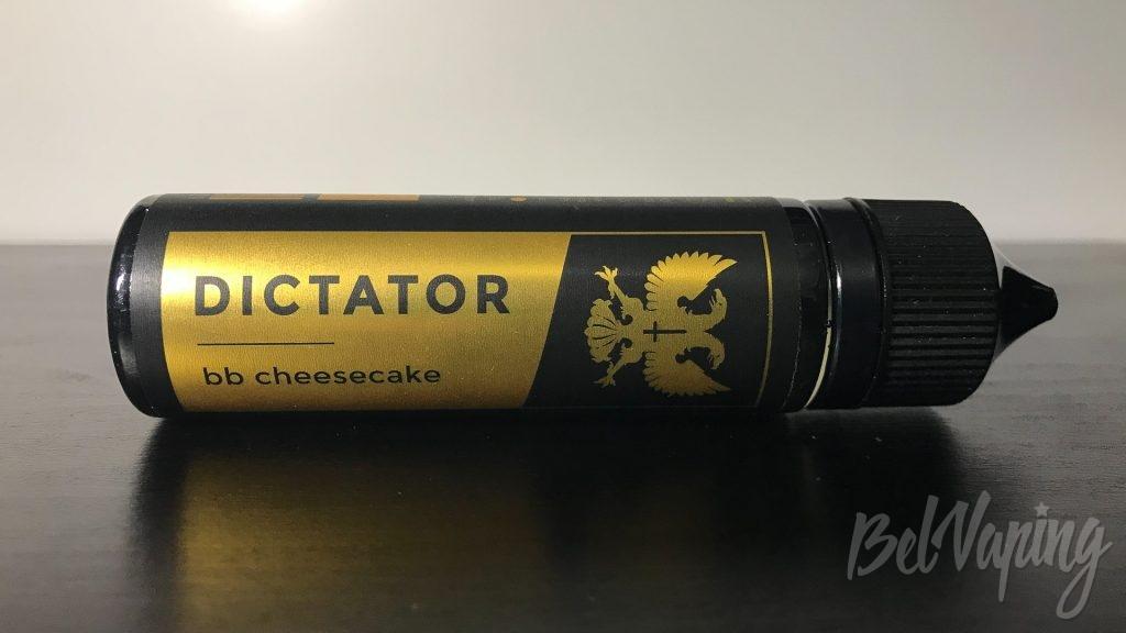 Жидкость Dictator Liquid's — BB Cheesecake