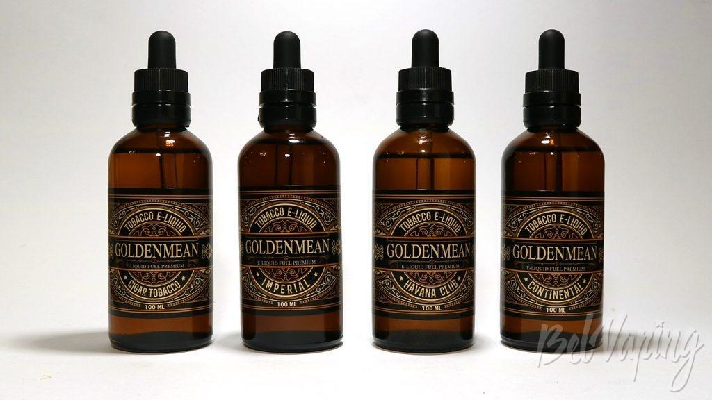 Red Smockers Goldenmean - линейка вкусов