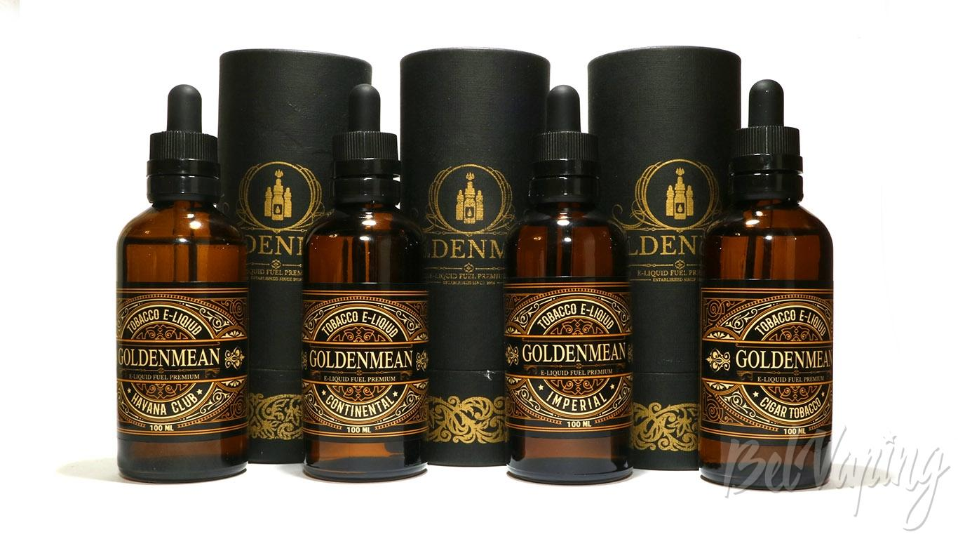 Обзор жидкости Red Smokers Goldenmean
